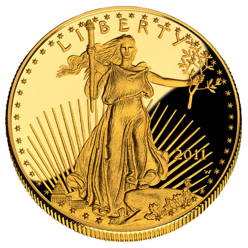 1/4 oz Proof Gold American Eagle